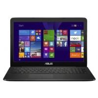 Ноутбук ASUS X554LA-XO1726D  i3 4005U 1700 МГц, 4 ГБ, 1000 ГБ (HDD),DVD, DOS, цвет крышки черный, цвет корпуса черный