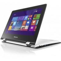 "Ноутбук Lenovo Yoga 300-11IBY (80M100H8RK) 11.6"" 1366 x 768 матовый, сенсорный, Intel Celeron N3060, 4 ГБ, 64 Гб (SSD), Intel HD Graphics 400, Windows 10, цвет крышки белый, цвет корпуса белый/черный"