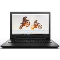 Ноутбук Lenovo IdeaPad 110-15IBR (80T7004RRA) Pentium N3710, 4 ГБ, 1Тб, Intel HD Graphics 400, DOS, цвет крышки черный, цвет корпуса черный