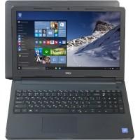 Ноутбук Dell Inspiron 15 3552 [3552-9841]Celeron N3050, 4 ГБ, 500 Гб (HDD), DVD, Intel HD Graphics, Linux, цвет крышки черный, цвет корпуса черный