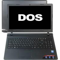Ноутбук Lenovo 100-15 [80MJ009TRK] N2840 , 2 ГБ, 250 Гб (HDD), Intel HD Graphics, DOS, цвет крышки черный, цвет корпуса черный