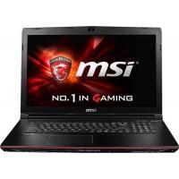 "Ноутбук MSI GP62 6QF-469XRU Leopard Pro 15.6"" FHD,  i5 6300HQ , 8 ГБ, 1000 ГБ, DVD,  NVIDIA GeForce GTX 960M, DOS, цвет крышки черный, цвет корпуса черный"